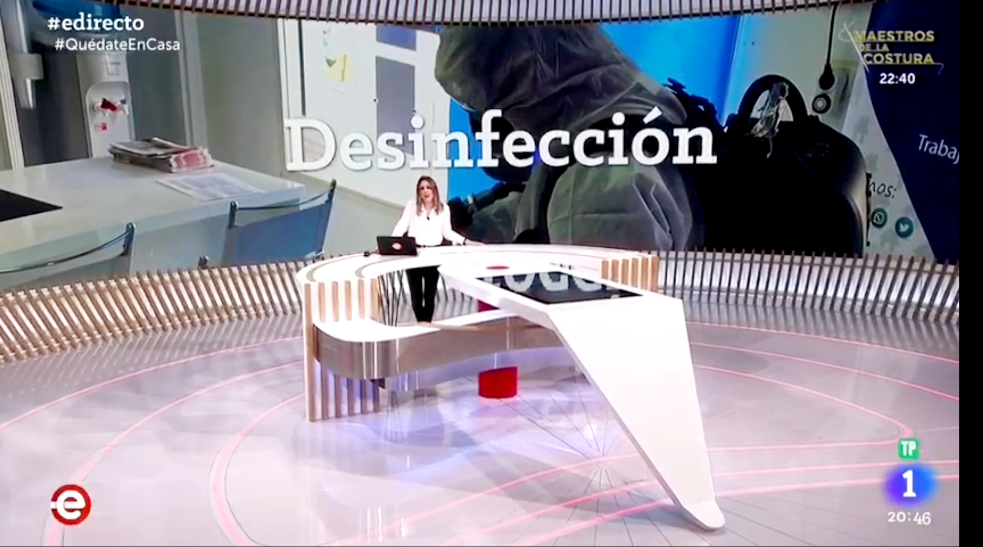Intervencion TVE 1